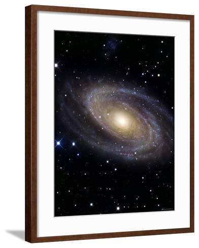 Messier 81-Stocktrek Images-Framed Art Print