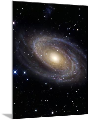 Messier 81-Stocktrek Images-Mounted Photographic Print