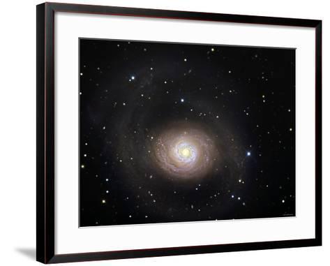 Messier 94-Stocktrek Images-Framed Art Print