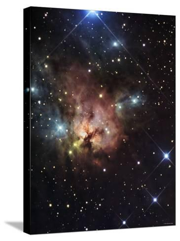The Northern Trifid Nebula-Stocktrek Images-Stretched Canvas Print