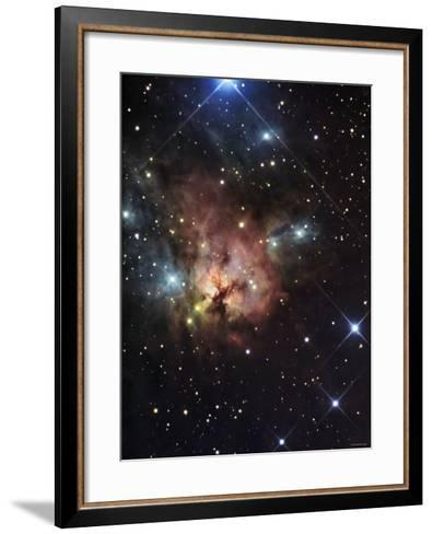 The Northern Trifid Nebula-Stocktrek Images-Framed Art Print