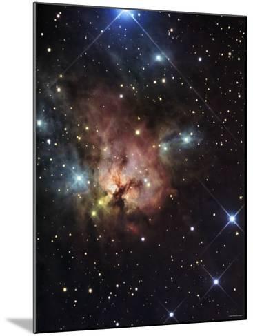 The Northern Trifid Nebula-Stocktrek Images-Mounted Photographic Print