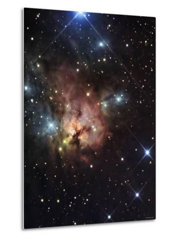 The Northern Trifid Nebula-Stocktrek Images-Metal Print