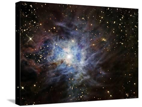 The Iris Nebula-Stocktrek Images-Stretched Canvas Print