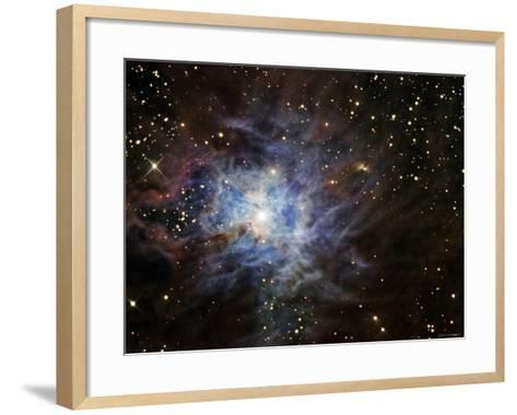 The Iris Nebula-Stocktrek Images-Framed Art Print