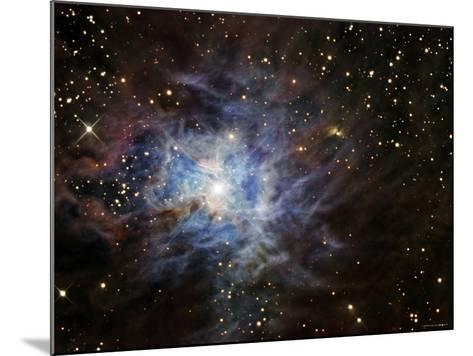 The Iris Nebula-Stocktrek Images-Mounted Photographic Print