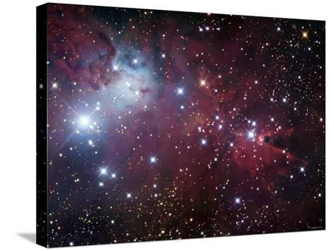 NGC 2264, the Cone Nebula Region-Stocktrek Images-Stretched Canvas Print