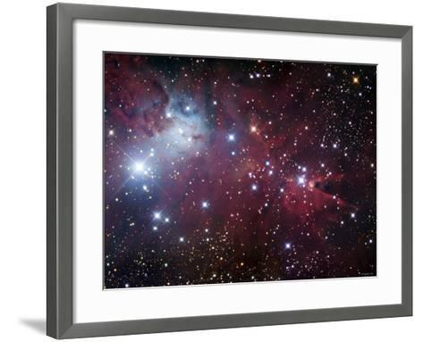 NGC 2264, the Cone Nebula Region-Stocktrek Images-Framed Art Print