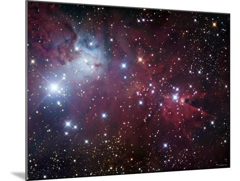 NGC 2264, the Cone Nebula Region-Stocktrek Images-Mounted Photographic Print