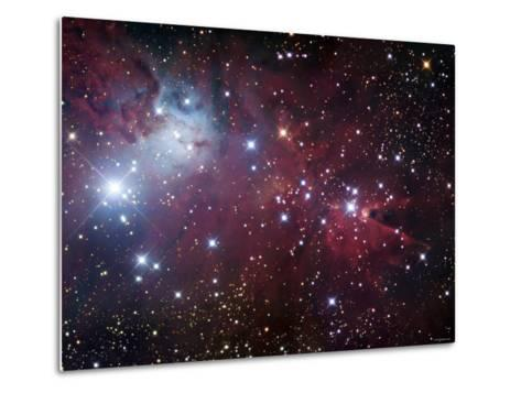 NGC 2264, the Cone Nebula Region-Stocktrek Images-Metal Print