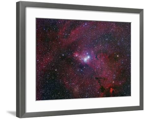 NGC 2264, the Cone Nebula Region-Stocktrek Images-Framed Art Print