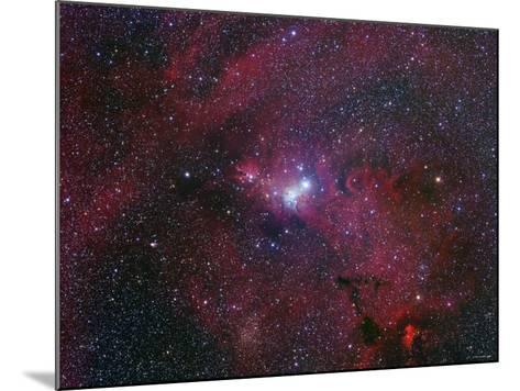 NGC 2264, the Cone Nebula Region-Stocktrek Images-Mounted Photographic Print