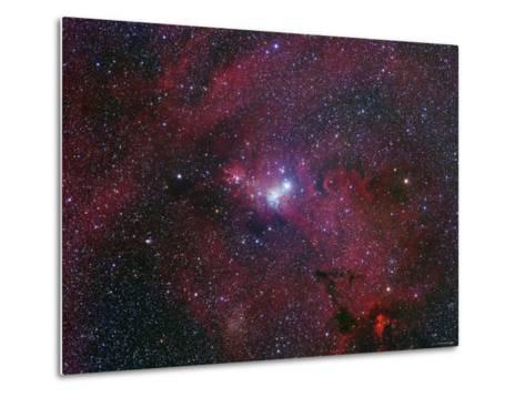 NGC 2264, the Cone Nebula Region-Stocktrek Images-Metal Print