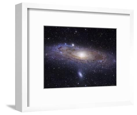 The Andromeda Galaxy-Stocktrek Images-Framed Art Print