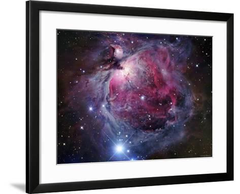 The Orion Nebula-Stocktrek Images-Framed Art Print