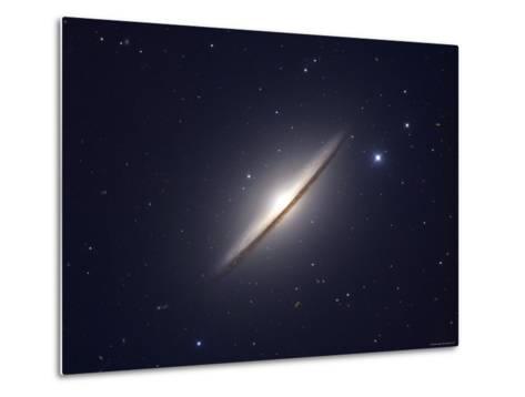 The Sombrero Galaxy-Stocktrek Images-Metal Print