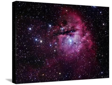 The Pacman Nebula-Stocktrek Images-Stretched Canvas Print