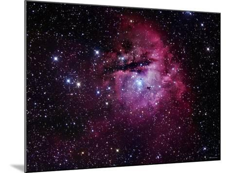 The Pacman Nebula-Stocktrek Images-Mounted Photographic Print