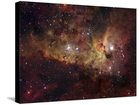 Eta Carinae-Stocktrek Images-Stretched Canvas Print