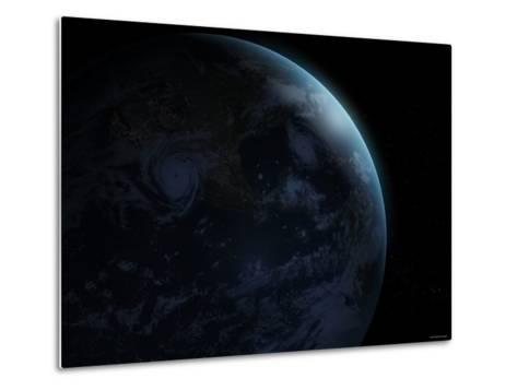 Earth-Stocktrek Images-Metal Print