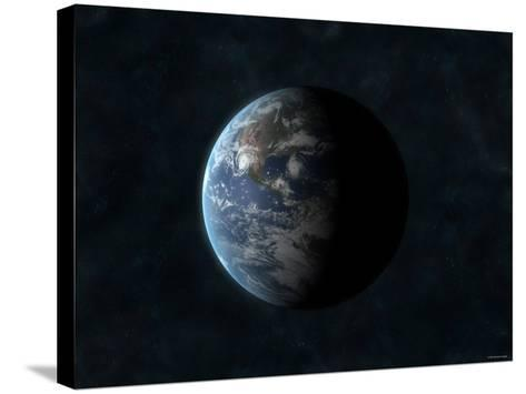Earth-Stocktrek Images-Stretched Canvas Print