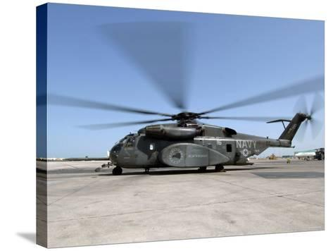 An MH-53E Sea Dragon Helicopter-Stocktrek Images-Stretched Canvas Print