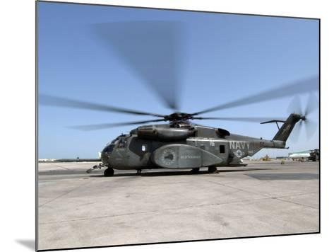An MH-53E Sea Dragon Helicopter-Stocktrek Images-Mounted Photographic Print