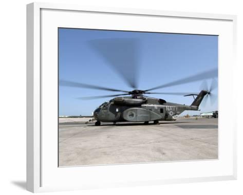 An MH-53E Sea Dragon Helicopter-Stocktrek Images-Framed Art Print