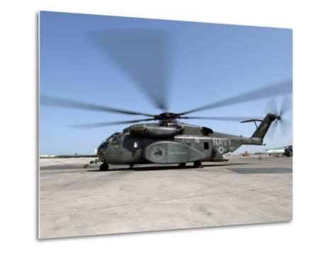 An MH-53E Sea Dragon Helicopter-Stocktrek Images-Metal Print