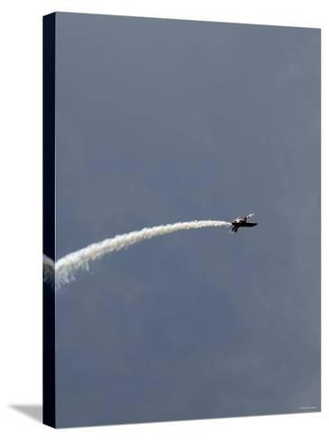 The Blue Angels-Stocktrek Images-Stretched Canvas Print
