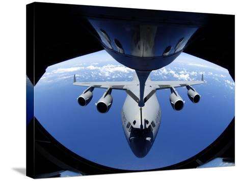 C-17 Globemaster III-Stocktrek Images-Stretched Canvas Print