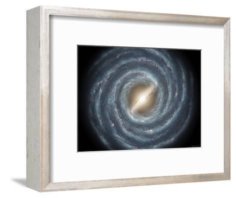 Milky Way Bar-Stocktrek Images-Framed Art Print