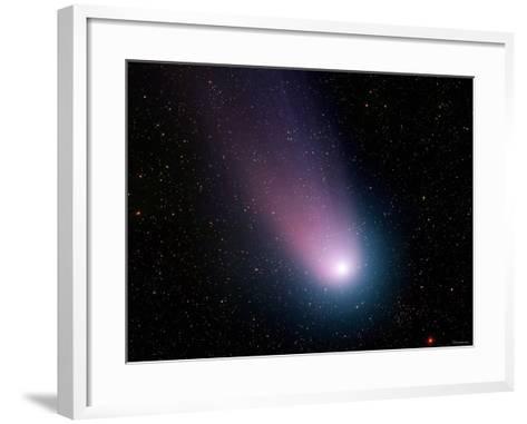 Comet C/2001 Q4 (NEAT)-Stocktrek Images-Framed Art Print