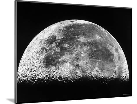 The Moon-Stocktrek Images-Mounted Photographic Print