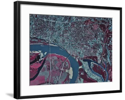 Memphis, Tennessee-Stocktrek Images-Framed Art Print