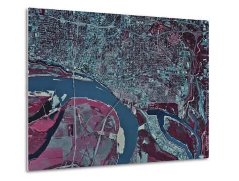 Memphis, Tennessee-Stocktrek Images-Metal Print
