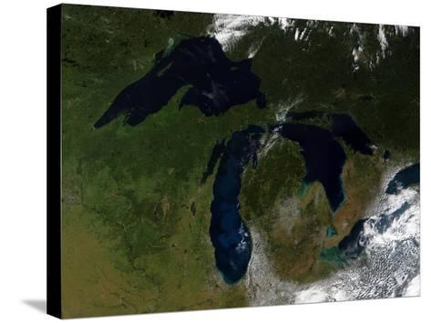 The Great Lakes-Stocktrek Images-Stretched Canvas Print
