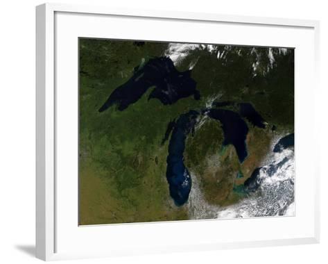 The Great Lakes-Stocktrek Images-Framed Art Print