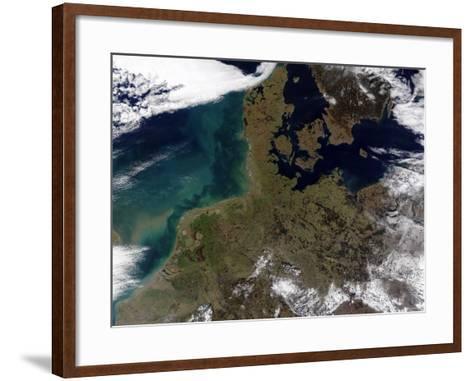 North Western Europe-Stocktrek Images-Framed Art Print