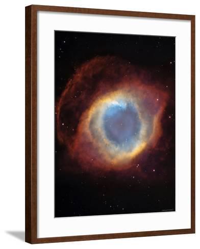 The Helix Nebula-Stocktrek Images-Framed Art Print