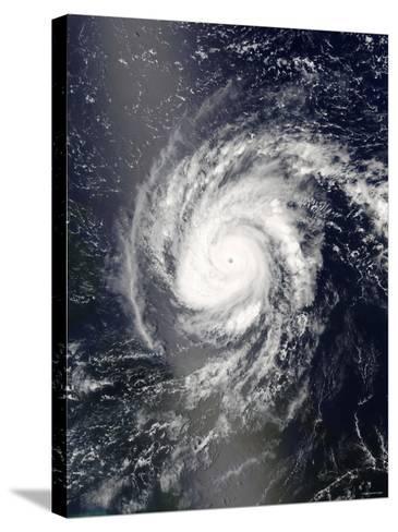 Hurricane Frances-Stocktrek Images-Stretched Canvas Print