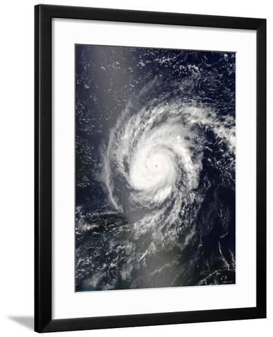 Hurricane Frances-Stocktrek Images-Framed Art Print