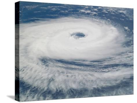 Hurricane Catarina-Stocktrek Images-Stretched Canvas Print
