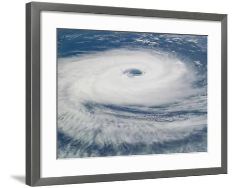 Hurricane Catarina-Stocktrek Images-Framed Art Print