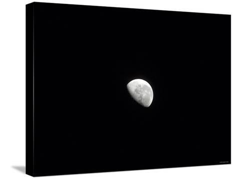 Waning Moon-Stocktrek Images-Stretched Canvas Print