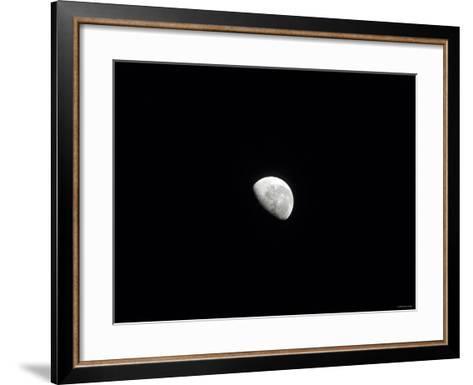 Waning Moon-Stocktrek Images-Framed Art Print