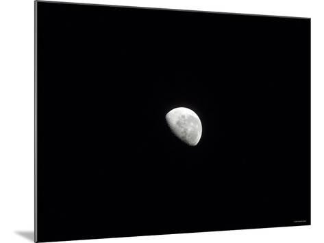 Waning Moon-Stocktrek Images-Mounted Photographic Print