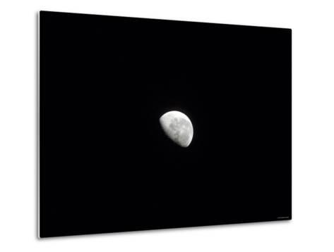 Waning Moon-Stocktrek Images-Metal Print