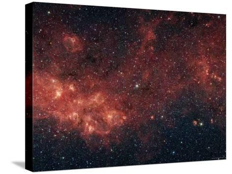 Milky Way-Stocktrek Images-Stretched Canvas Print
