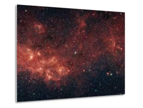 Milky Way-Stocktrek Images-Metal Print